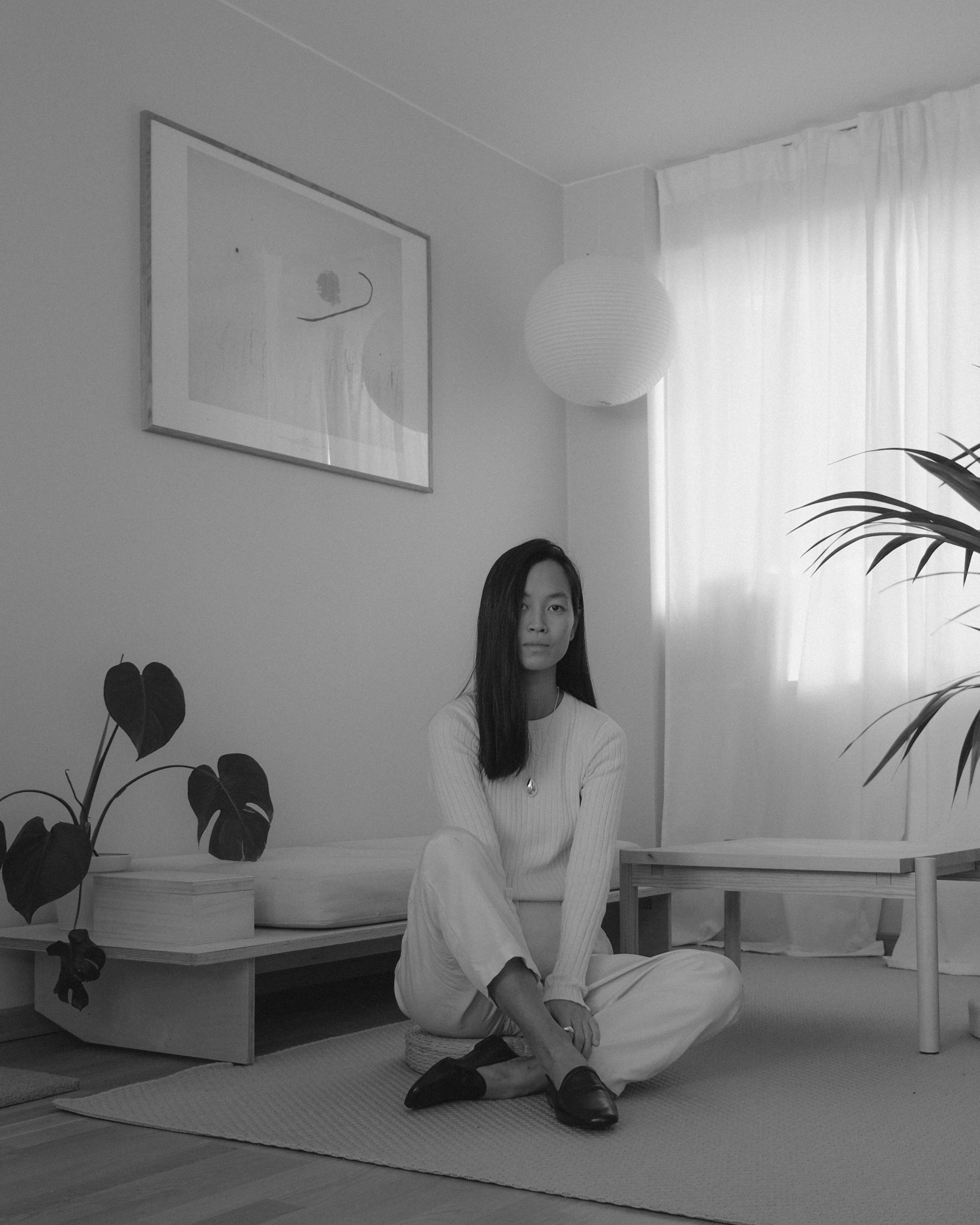 Maria Van Nguyen at home in Oslo.